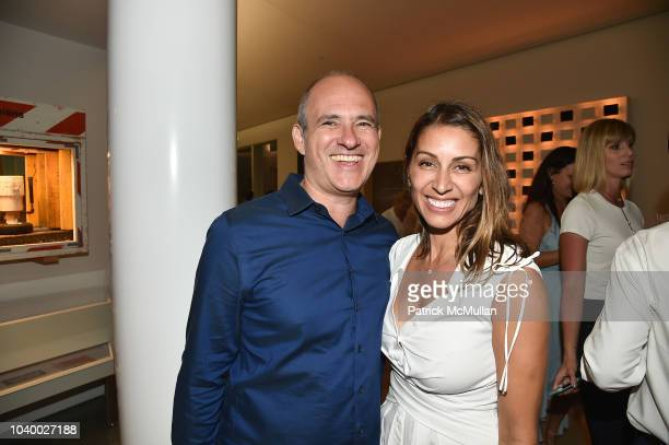 David Brown and Shamin Abas attend The Bridge 2018 at The Bridge on September 15, 2018 in Bridgehampton, NY.