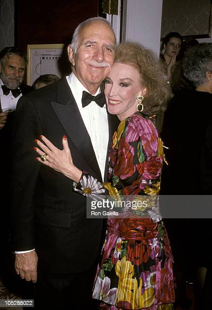 """David Brown and wife Helen Gurley Brown during The Fashion Group International's 6th Annual """"Night of 100 Stars"""" at The Plaza Hotel in New York City,..."""