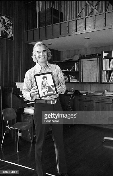 David Brubeck posing for a portrait on January 15, 1974 in Norwalk, Connectcut.
