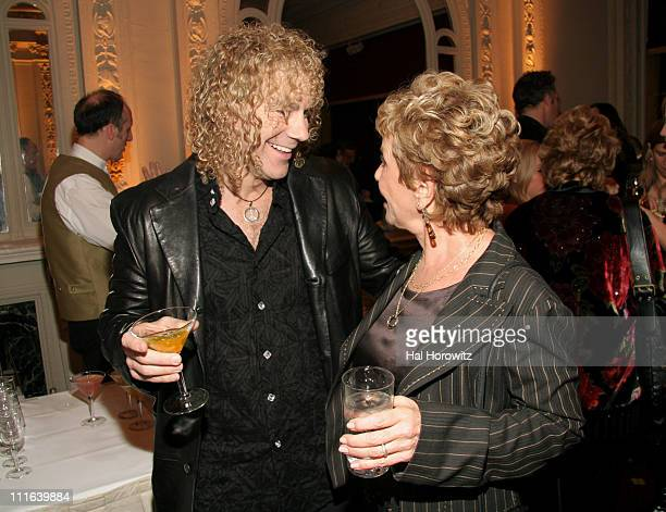 David Bryan and Dena Hammerstein during Sixth Annual Gala Benefit for Only Make Believe at The Hudson Theatre in New York City New York United States
