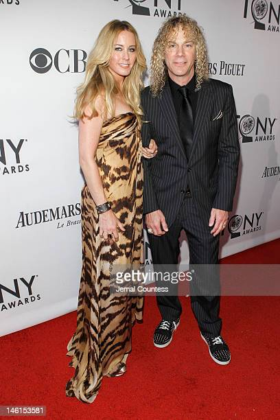 David Bryan and guest attend the 66th Annual Tony Awards at The Beacon Theatre on June 10 2012 in New York City