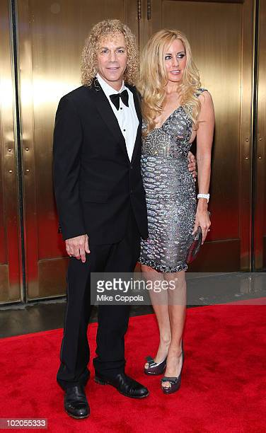 David Bryan and Lexi Quaas attend the 64th Annual Tony Awards at Radio City Music Hall on June 13 2010 in New York City
