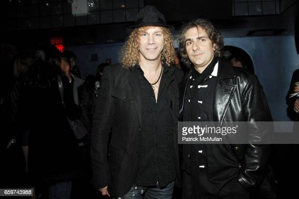 David Bryan and Michael Imperioli attend REAMIR CO Launch Party for their new SIGNITURE PRODUCTS Performance by MICHAEL IMPERIOLI LA DOLCE VITA at...