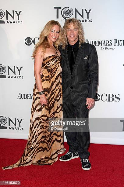 David Bryan and wife Lexi Quaas attend the 66th Annual Tony Awards at the Beacon Theatre on June 10 2012 in New York City