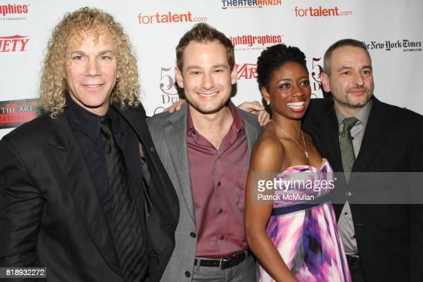 David Bryan Chad Kimball Montego Glover and Joe DiPietro attend 55th Annual DRAMA DESK AWARDS at FH LaGuardia Concert Hall at Lincoln Center on May...