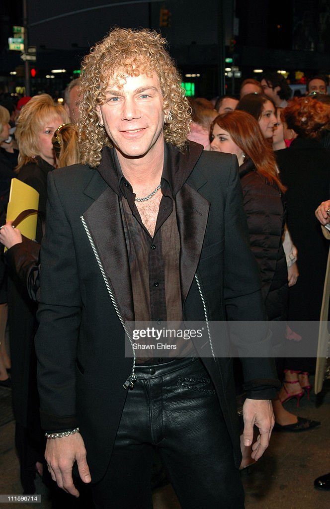 David Bryan during 'All Shook Up' Opening Night on Broadway at The Palace Theatre in New York City, New York, United States.