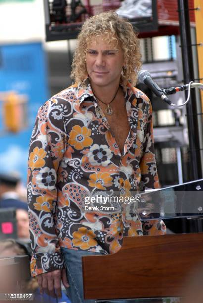 David Bryan during Bon Jovi Performs on the 'Today Show' September 23 2005 at Rockefeller Center in New York City United States