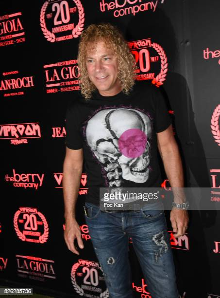 David Bryan from Bon Jovi attends the Party at VIP Room Saint Tropez on August 3 2017 in SaintTropez France