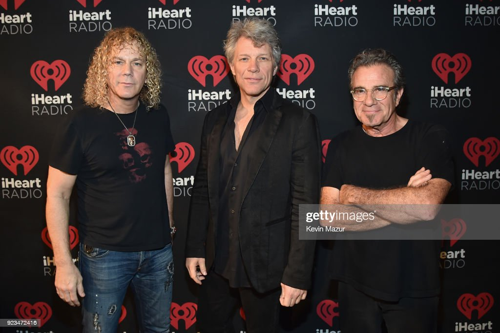 iHeartRadio ICONS With Bon Jovi Presented By AutoZone At The iHeartRadio Theater New York On February 21, 2018