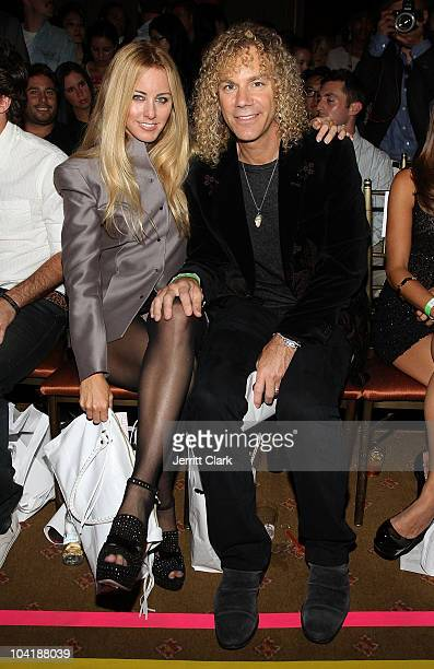 David Bryan of Bon Jovi and wife Lexi Quaas attends the YFC by Yellow Fever Spring 2011 fashion show during MercedesBenz Fashion Week at Capitale on...