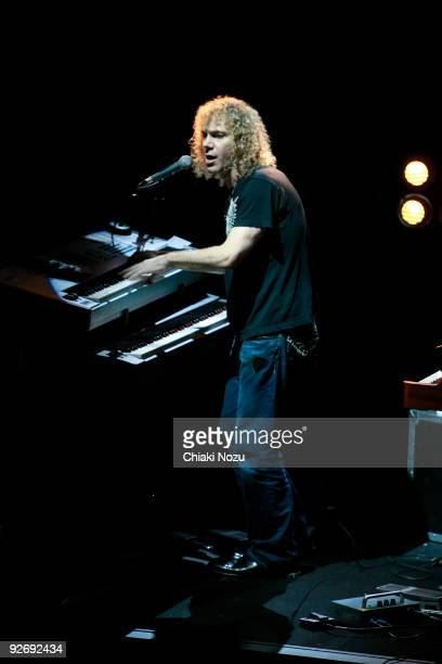 David Bryan of Bon Jovi performs at exclusive gig for Radio 2 on November 3 2009 in London England