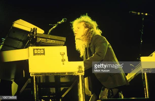 David Bryan of Bon Jovi performs on stage circa 1993