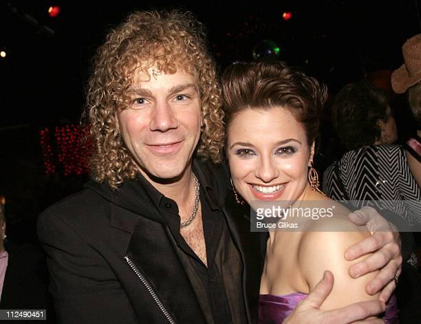 David Bryan of Bon Jovi with Jennifer Gambatese star of 'All Shook Up' **Exclusive Coverage**