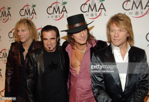David Bryan Tico Torres Richie Sambora and Jon Bon Jovi of Bon Jovi