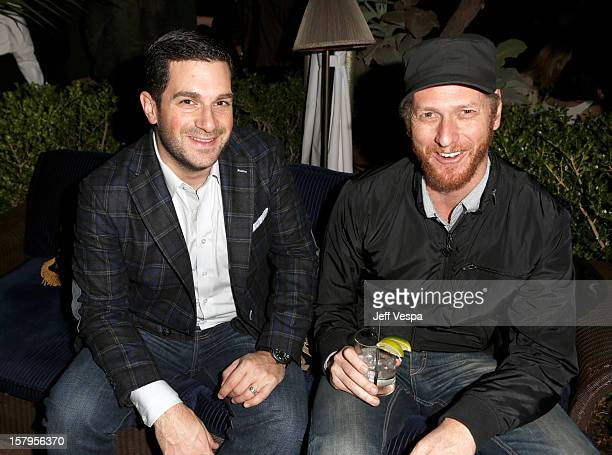 David Bugliari and Brian Klugman attend the SILVER LININGS PLAYBOOK Event Hosted By Lexus And Purity Vodka at Chateau Marmont on December 7 2012 in...