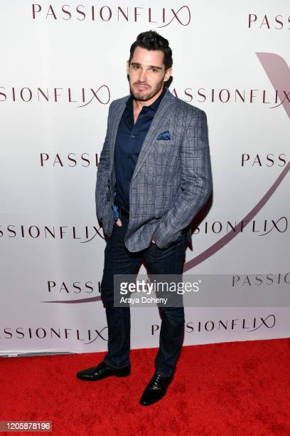 David Buglione attends Passionflix's The Will Los Angeles Premiere on February 12 2020 in Culver City California