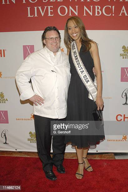 David Burke chef and Miss Minnesota Dottie Cannon