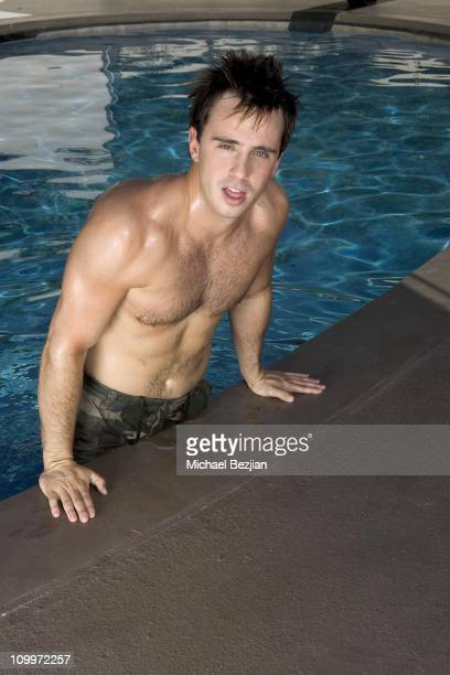 David Burns during 2006 Sexiest Men and Women of Reality TV Calendar Shoot Day 3 at Private Residence in Los Angeles California United States