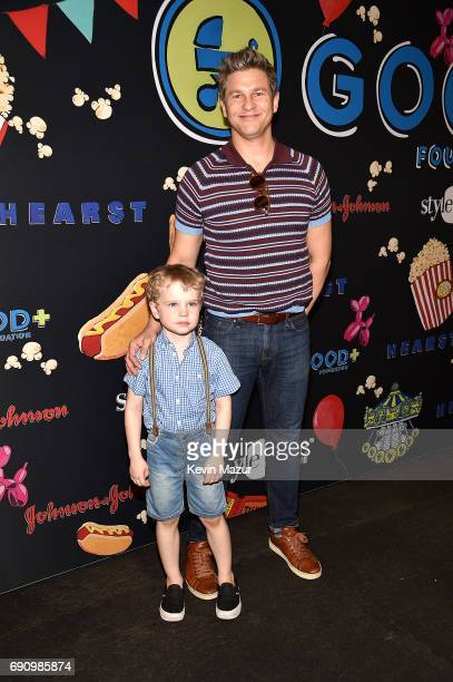 David Burtka and Gideon Scott BurtkaHarris attend GOOD Foundation's 2017 NY Bash at Victorian Gardens in Central park on May 31 2017 in New York City