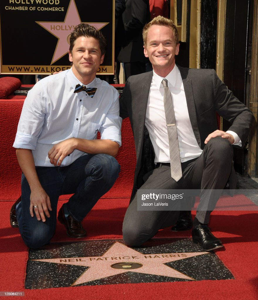 Neil Patrick Harris Receives Star On The Hollywood Walk Of Fame
