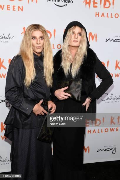 David Burtka and Neil Patrick Harris attend Heidi Klum's 20th Annual Halloween Party presented by Amazon Prime Video and SVEDKA Vodka at Cathédrale...