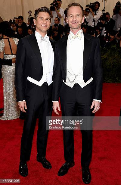 David Burtka and Neil Patrick Harris attend the China Through The Looking Glass Costume Institute Benefit Gala at the Metropolitan Museum of Art on...