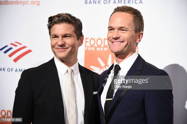 David Burtka and Neil Patrick Harris attend the Food Bank For New York City CanDo Awards at Cipriani Wall Street on April 16 2019 in New York City