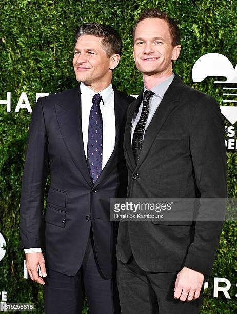 David Burtka and Neil Patrick Harris attend the God's Love We Deliver Golden Heart Awards on October 17 2016 in New York City