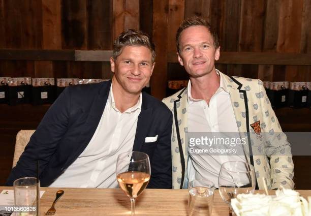 David Burtka and Neil Patrick Harris attend the Hamptons Magazine And Saks Fifth Avenue Celebration of Cover Stars Neil Patrick Harris And David...