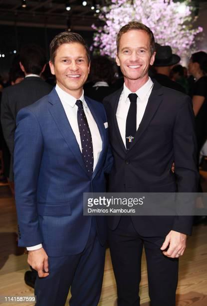 David Burtka and Neil Patrick Harris attend the Whitney Museum Of American Art Gala + Studio Party at The Whitney Museum of American Art on April 09,...