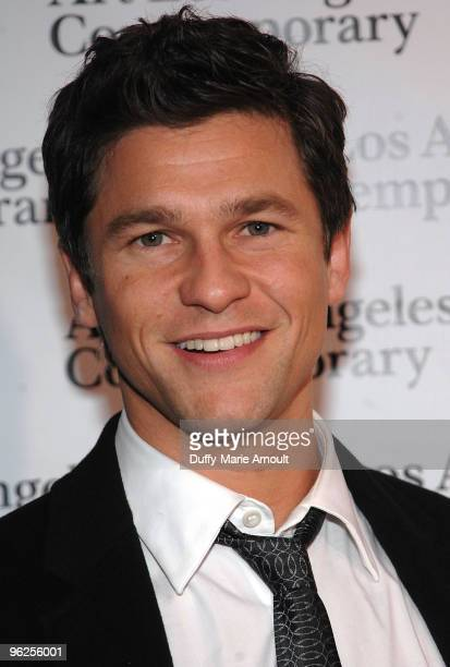 David Burtka attends Opening Night of Art Los Angeles Contemporary at Pacific Design Center on January 28 2010 in West Hollywood California