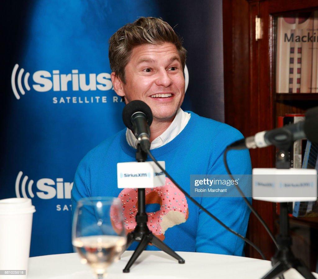 "Restauranteur Geoffrey Zakarian Hosts SiriusXM's ""Food Talk"" On Friday, October 13th At The Lambs Club In New York City"