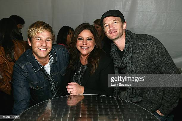 David Burtka, Celebrity Chef Rachael Ray, and actor Neil Patrick Harris attend the Blue Moon Burger Bash presented by Pat LaFrieda Meats hosted by...