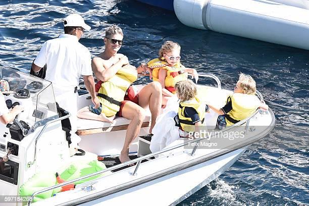 David Burtka is seen on August 27 2016 in Portofino Italy