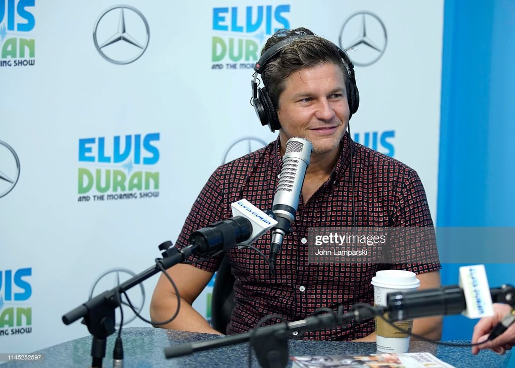 "NY: David Burtka Visits ""The Elvis Duran Z100 Morning Show"""