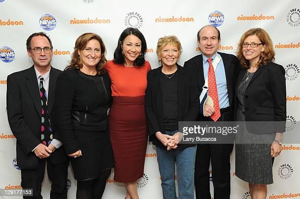 David Bushman Cyna Zarghami President of Nickelodeon Group Ann Curry Linda Ellerbee CEO of Viacom Philippe Dauman and Marjorie Cohn President of...