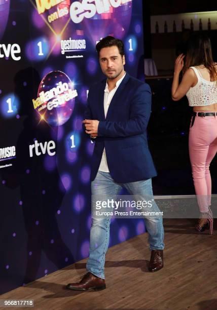 David Bustamante attends 'Bailando Con Las Estrellas' TVE photocall on May 9 2018 in Madrid Spain