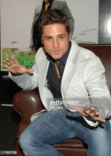 David Bustamante during Launches His New Album Pentimento During a Press Conference in Spain June 13 2006 at Hesperia Hotel in Madrid Spain