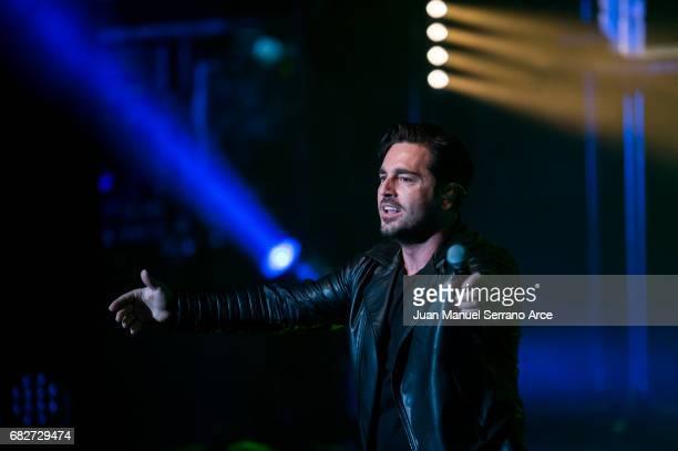 David Bustamante performs in concert at the Palacio Festivales on May 13 2017 in Santander Spain