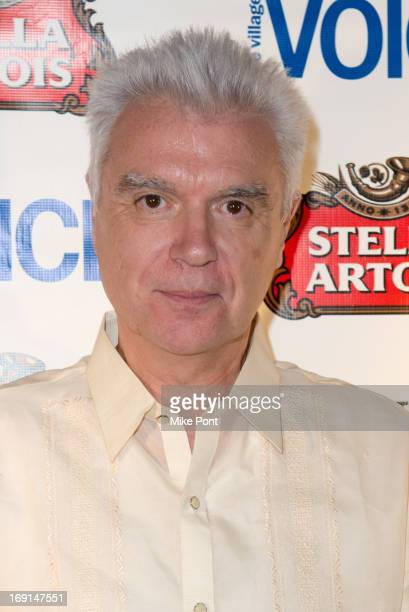 David Byrne attends the 2013 Obie Awards at Webster Hall on May 20, 2013 in New York City.
