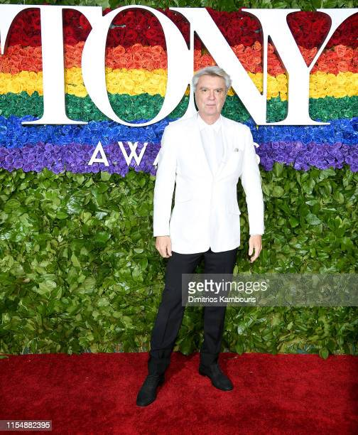 David Byrne attends the 73rd Annual Tony Awards at Radio City Music Hall on June 09 2019 in New York City