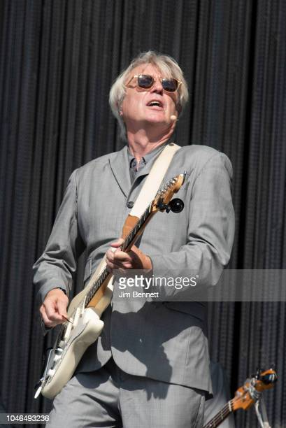 David Byrne performs live on stage during Austin City Limits Festival at Zilker Park on October 5 2018 in Austin Texas