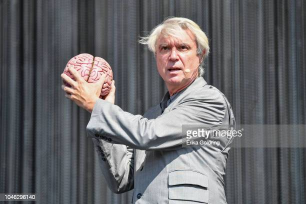 David Byrne performs on Day 1 of Austin City Limits Festival at Zilker Park on October 5, 2018 in Austin, Texas.