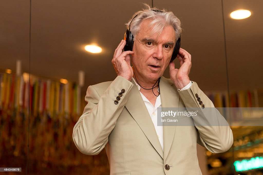 David Byrne Launches The Meltdown Festival 2015 : News Photo