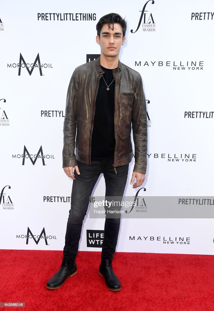 David Bywater attends The Daily Front Row's 4th Annual Fashion Los Angeles Awards at Beverly Hills Hotel on April 8, 2018 in Beverly Hills, California.