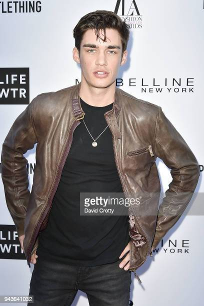 David Bywater attends The Daily Front Row's 4th Annual Fashion Los Angeles Awards Arrivals at The Beverly Hills Hotel on April 8 2018 in Beverly...