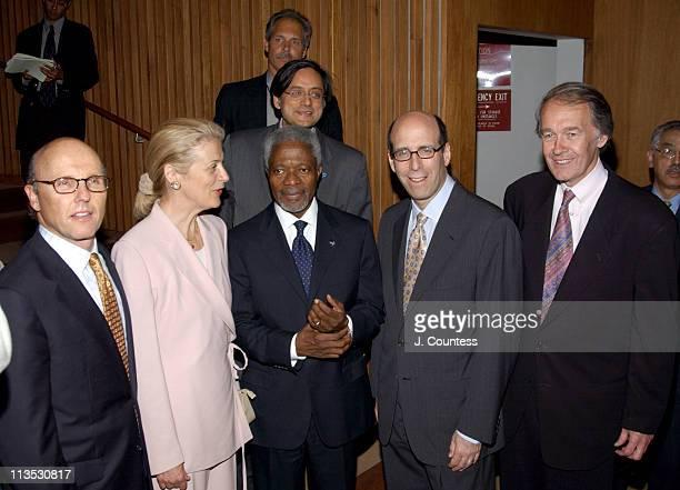 David C McCourt Chairman and CEO RCN Corporation Nane Annan United Nations SecretaryGeneral Kofi Annan Matthew C Blank Chairman and CEO Showtime...