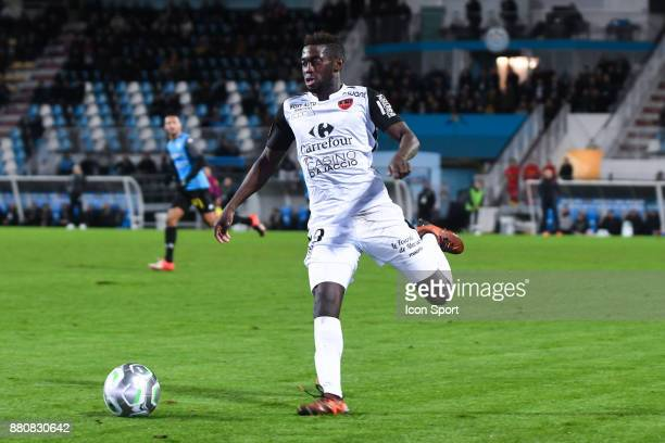 David Cafimipon Gomis during the Ligue 2 match between Tours and Gazelec Ajaccio at on November 24 2017 in Tours France Philippe Le Brech / Icon Sport