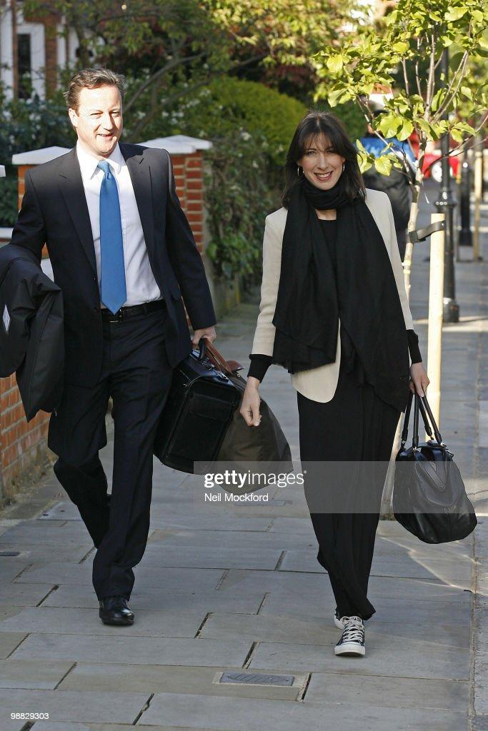 David Cameron and Samantha Cameron Sighting In London - May 04, 2010