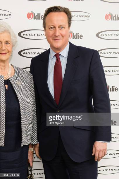 David Cameron attends The Oldie of the Year Awards at Simpson's in the Strand on February 7, 2017 in London, United Kingdom.